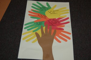 This Thanksgiving Tree is a fun and easy way to show all that you are thankful for this year!