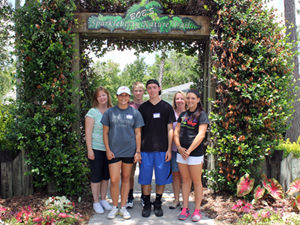 Thumbnail image for Clayton Laine Volunteer Program Gives Back To GKTW
