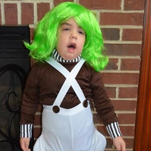 Halloween Costume Oompa Loompa