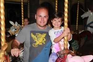 October Dad & Girl Carousel