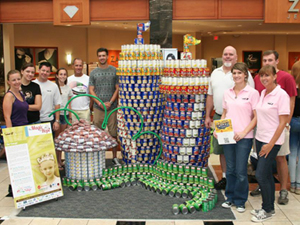 Thumbnail image for Can-struction for a Cause